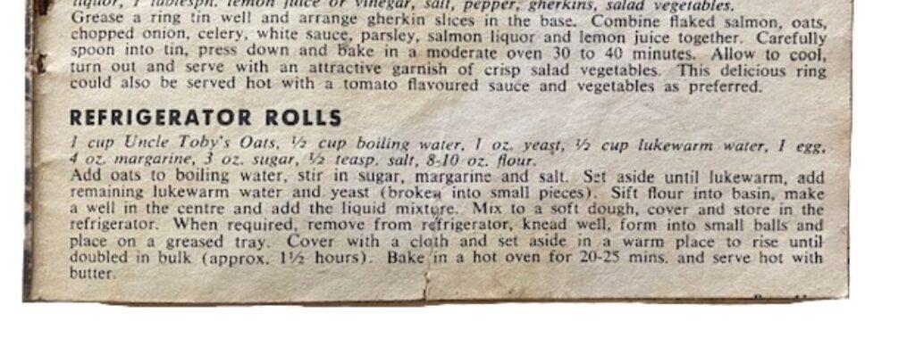 refrigerator rolls recipe