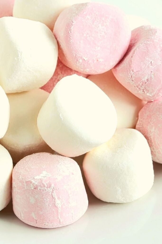 marshmallows for rice bubble slice 2