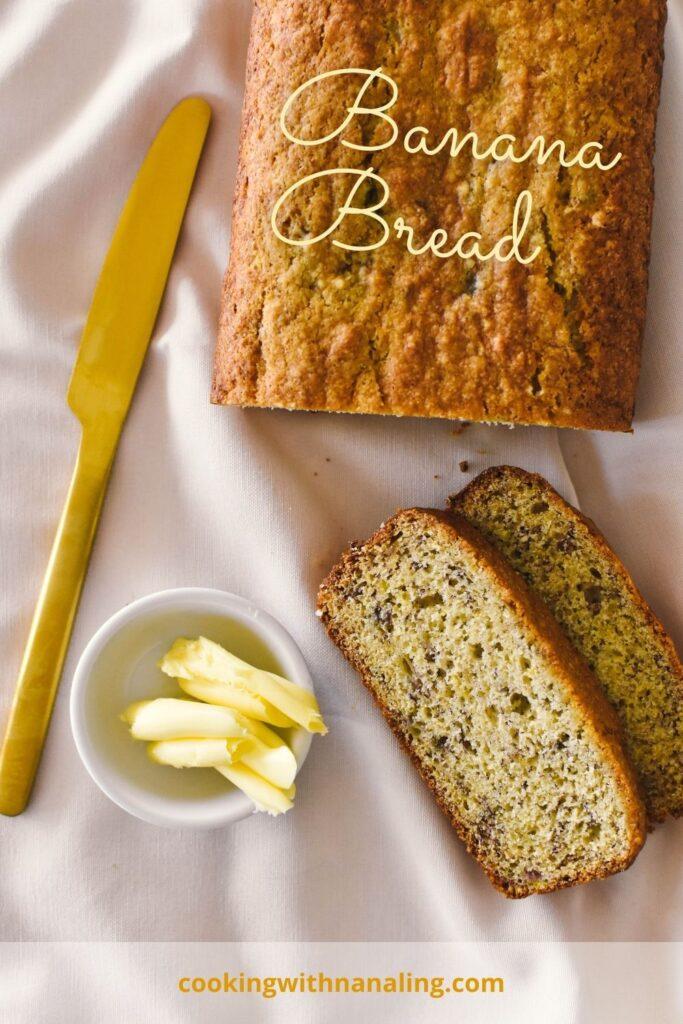 easy banana bread recipe pin2