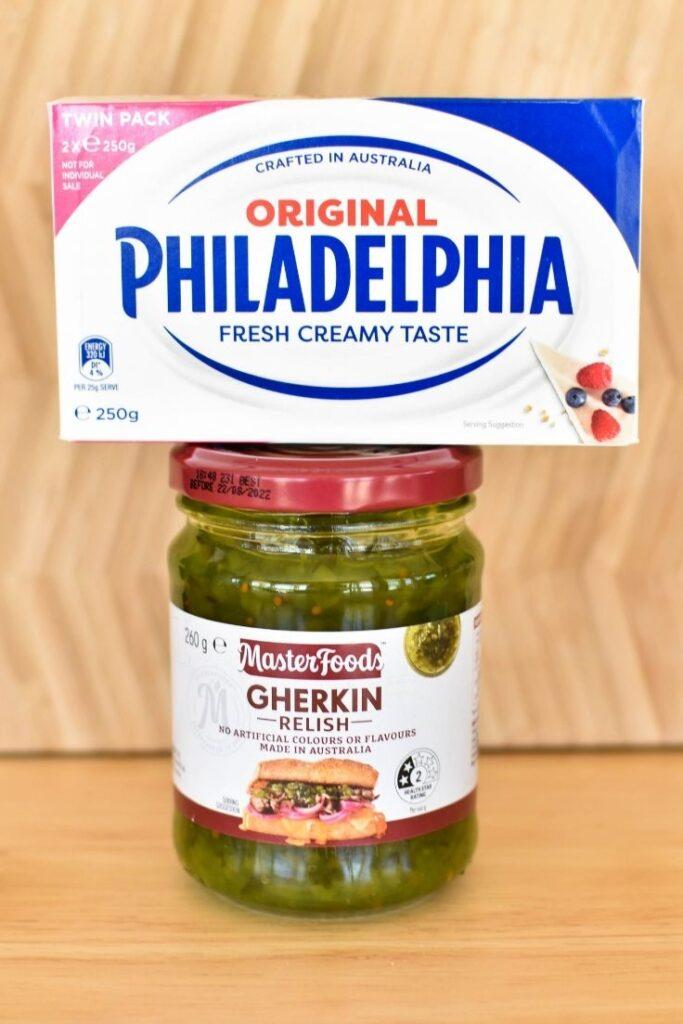 gherkin dip ingredients