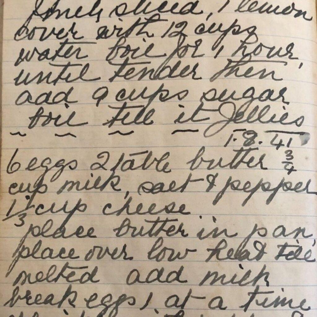 nana ling writing recipes